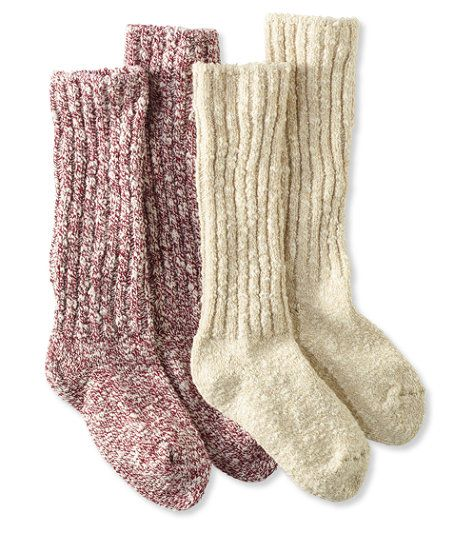Women S Cotton Ragg Camp Socks Two Pack Camp Socks Cozy Socks Hiking Outfit