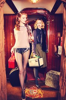 Duchess Dior: Frances Coombe & Anastasia Ivanova by Ellen von Unwerth for…