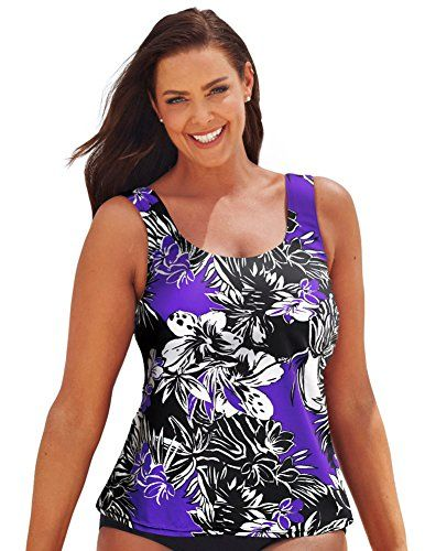 6dc9958d62 Introducing Beach Belle Womens Plus Size Bora Bora Classic 2634 Top 26  Multi. Great product and follow us for more updates!