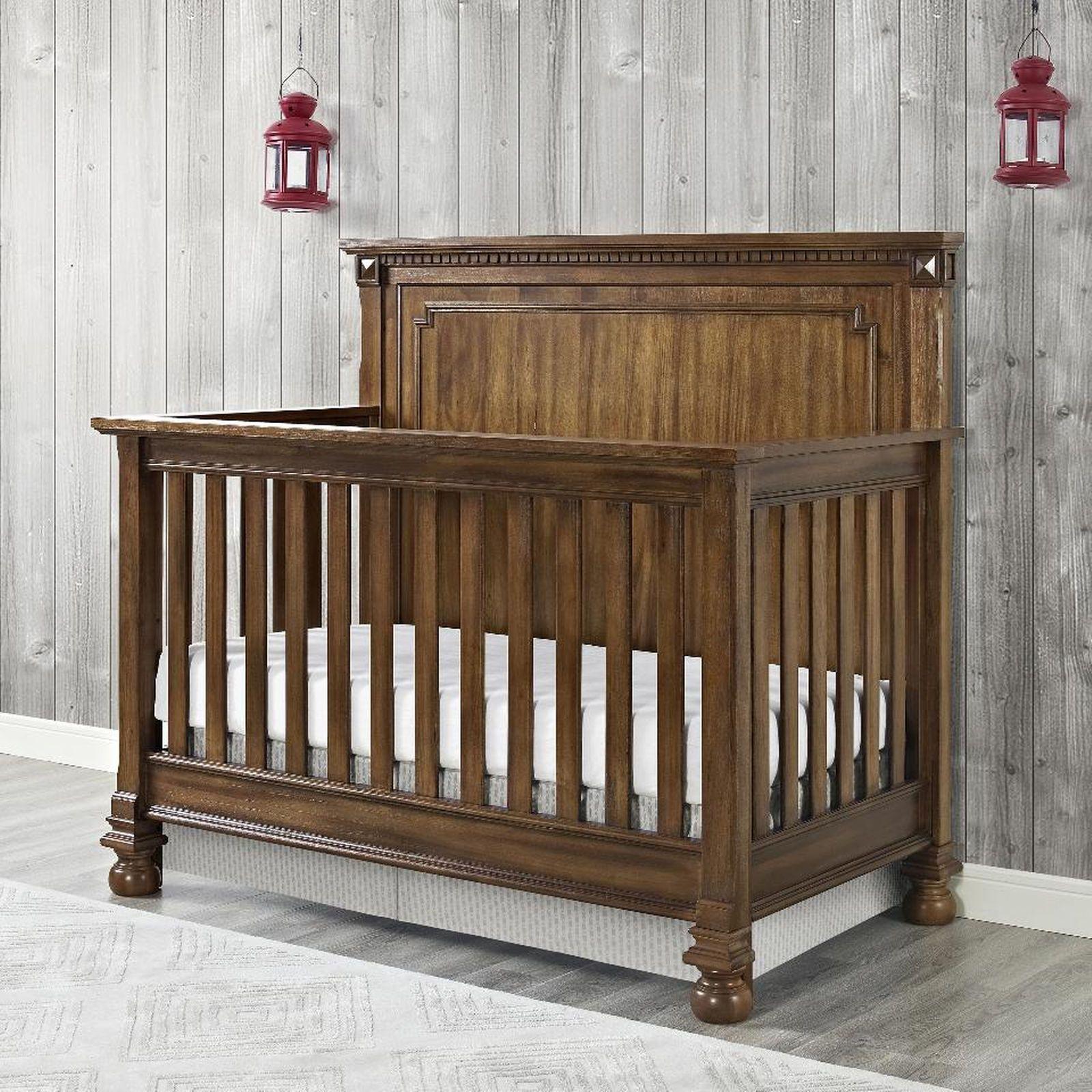 Bertini Beckem 4 In 1 Convertible Crib Antique Natural