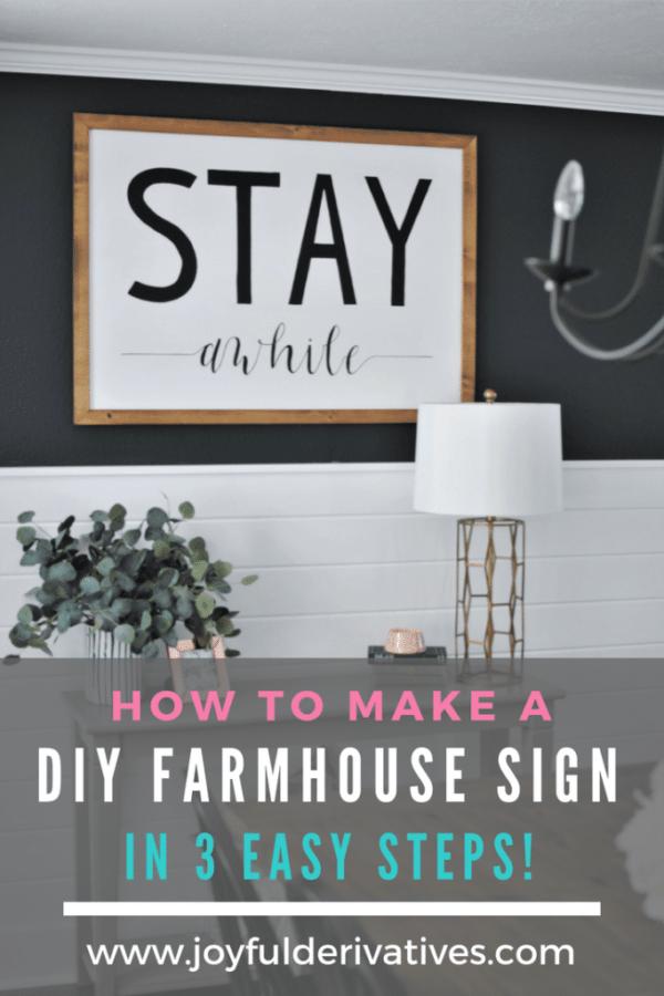 Diy house number plaque project pinterest diy farmhouse sign solutioingenieria Choice Image