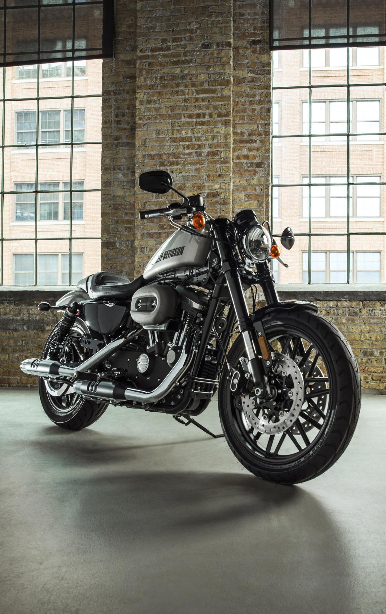 Desktop Wallpaper S Motorcycles Harley Davidson Xl 1200 Sportster 1200 Night Harley Davidson Roadster Harley Davidson Sportster Harley Davidson Night Train