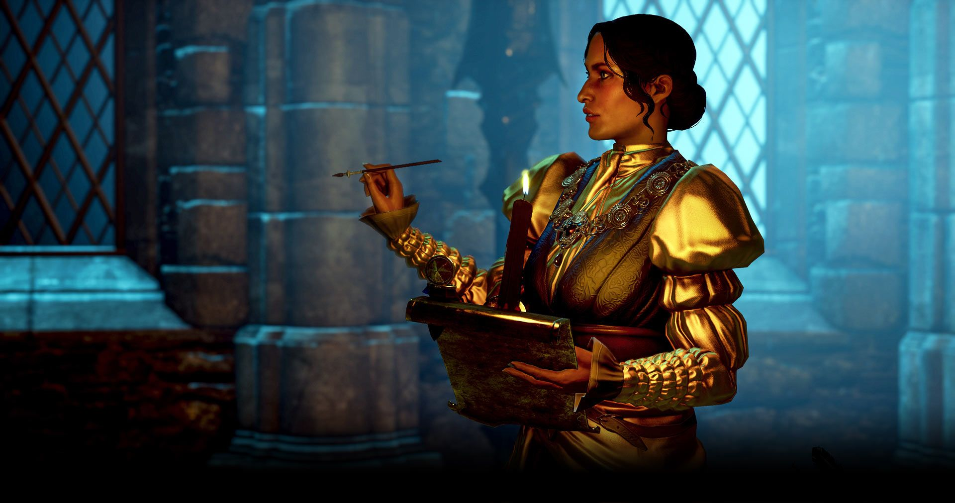 dragon age josephine montilyet - Google Search | The Waterfall in