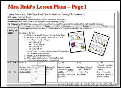 Multi-age lesson plans in a differentiated, project based, flipped ...