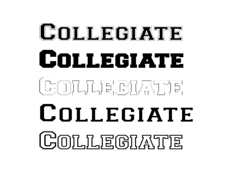 Collegiate Font Family Free Download Collegiate Font Free Fonts Download Free Font