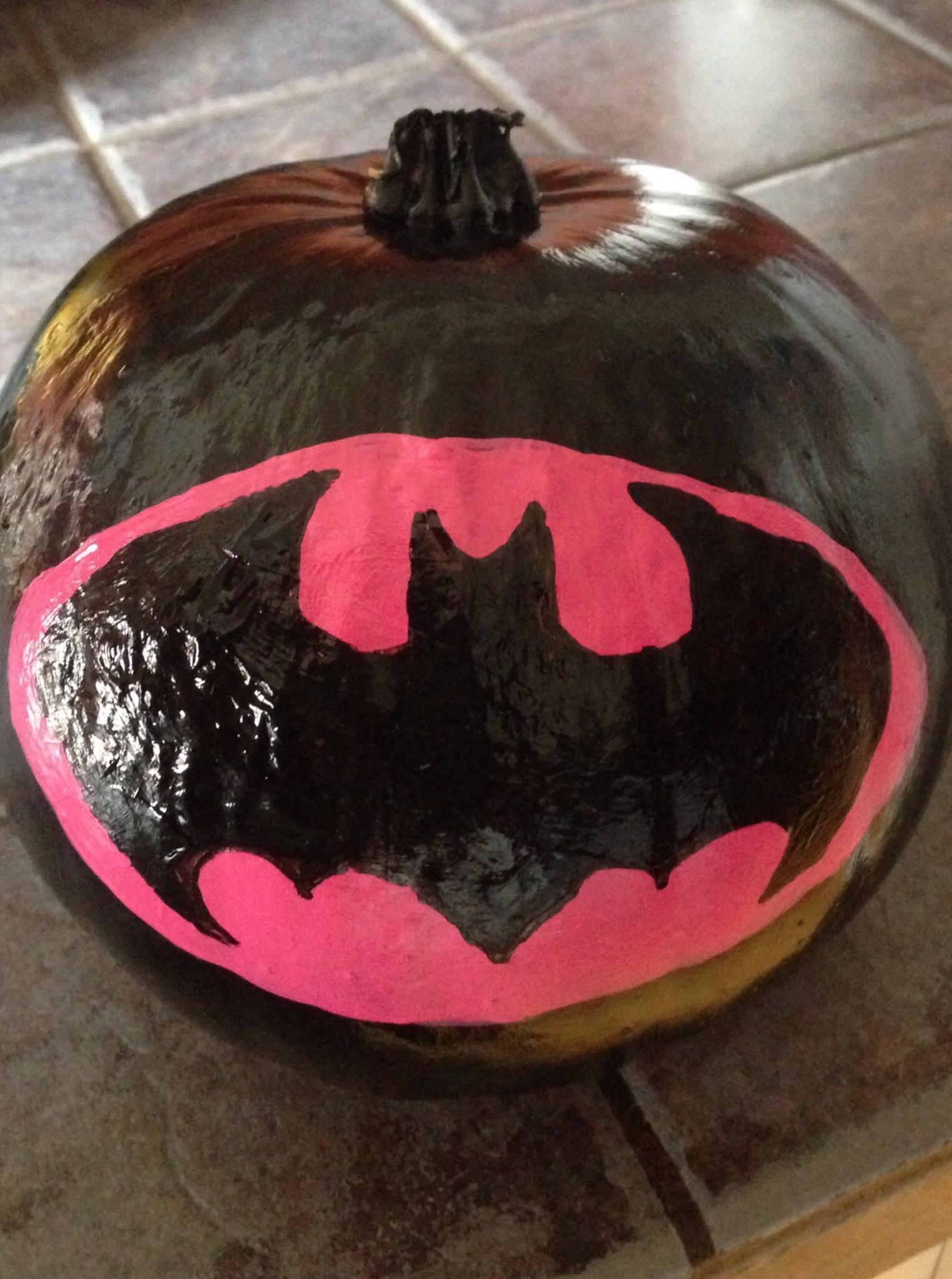 Batgirl Pumpkin