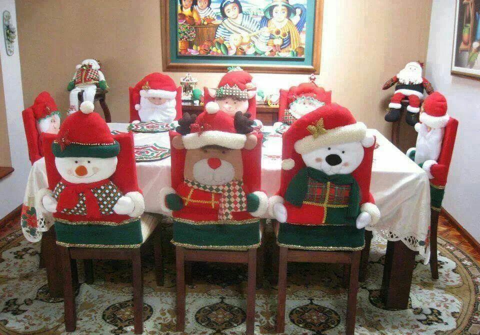 Decoraci n navide a de las sillas navidad tu revista for Decoracion de adornos navidenos