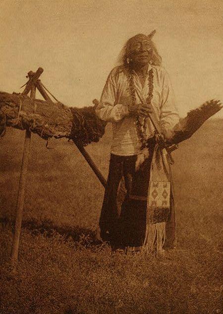 Elk Head - Sans Arc / Sioux (Lakota)