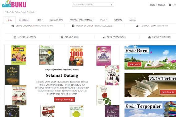 Webstore Adalah Bahasa Indonesia Dari Toko Online Dimana Anda Dapat Melakukan Transaksi Jual Beli Di Web Tersebut Untuk Saat Ini Toko O Buku Baru Buku Produk