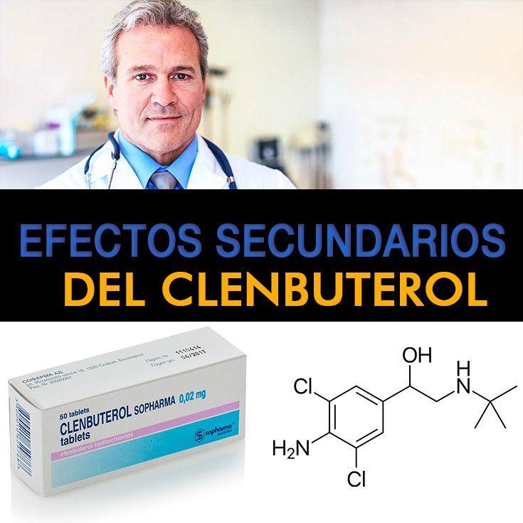 efectos adversos del clenbuterol