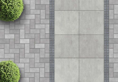 Pavers Vs Stamped Concrete Cost Google Search