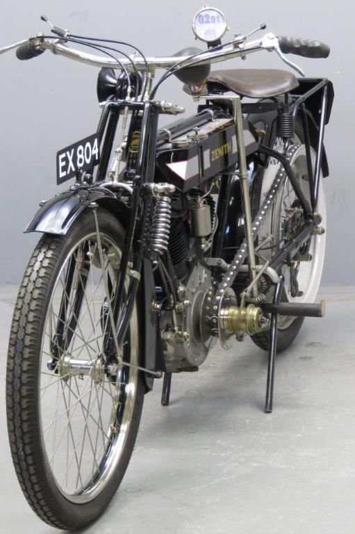 Zenith 1912 Gradua 770cc Classic Bikes Vintage Bikes Old Motorcycles