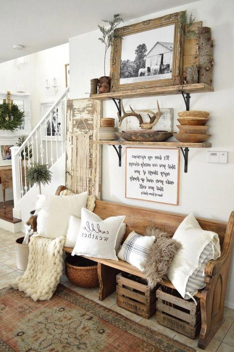 28 Amazing Traditional Farmhouse Decor Ideas For Your Entire House Farmhousestyle Farmhousedecor Farmhousein Farm House Living Room Home Decor Living Decor