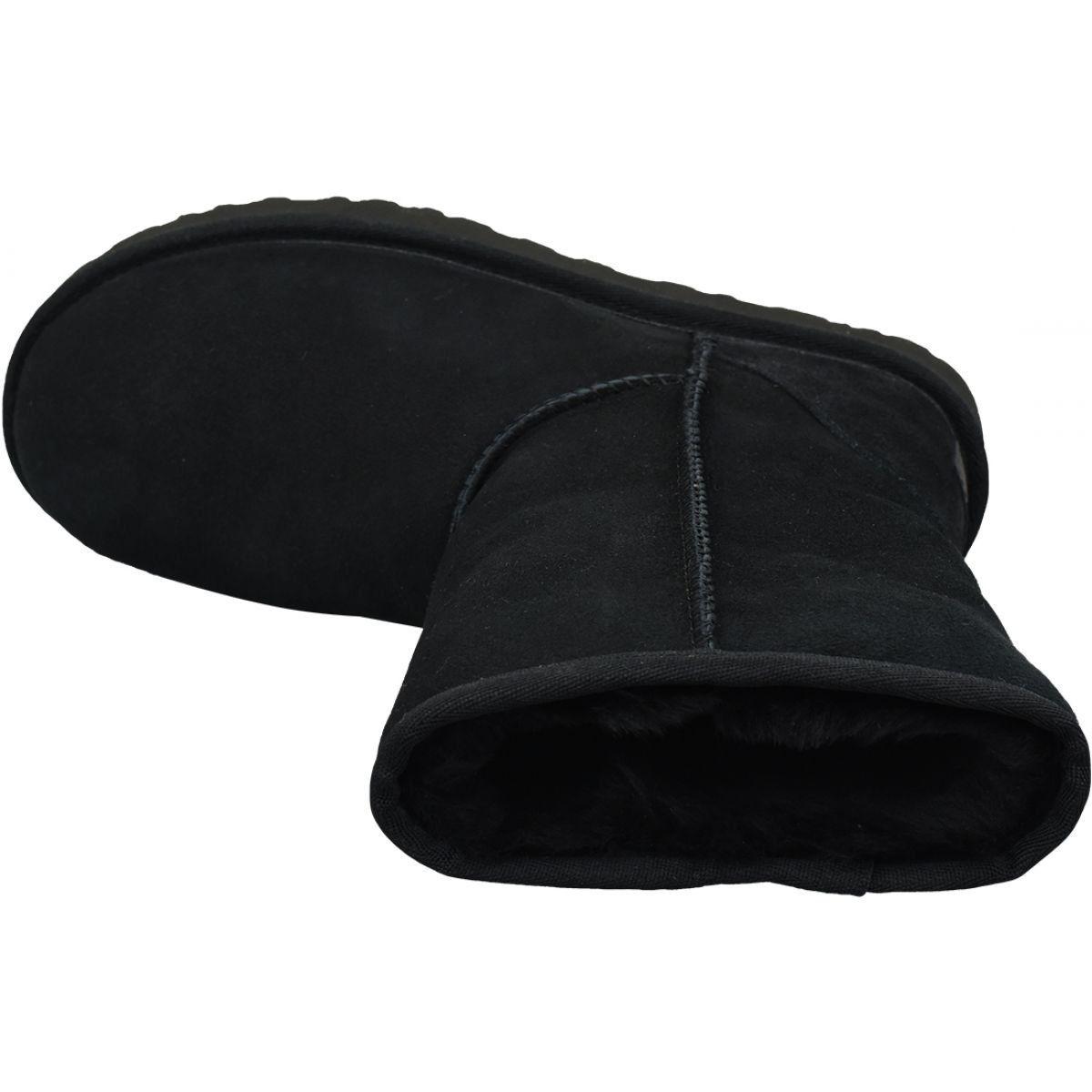 Buty Ugg Classic Short Ii W 1016223 Blk Czarne Ugg Classic Ugg Classic Short Shoes