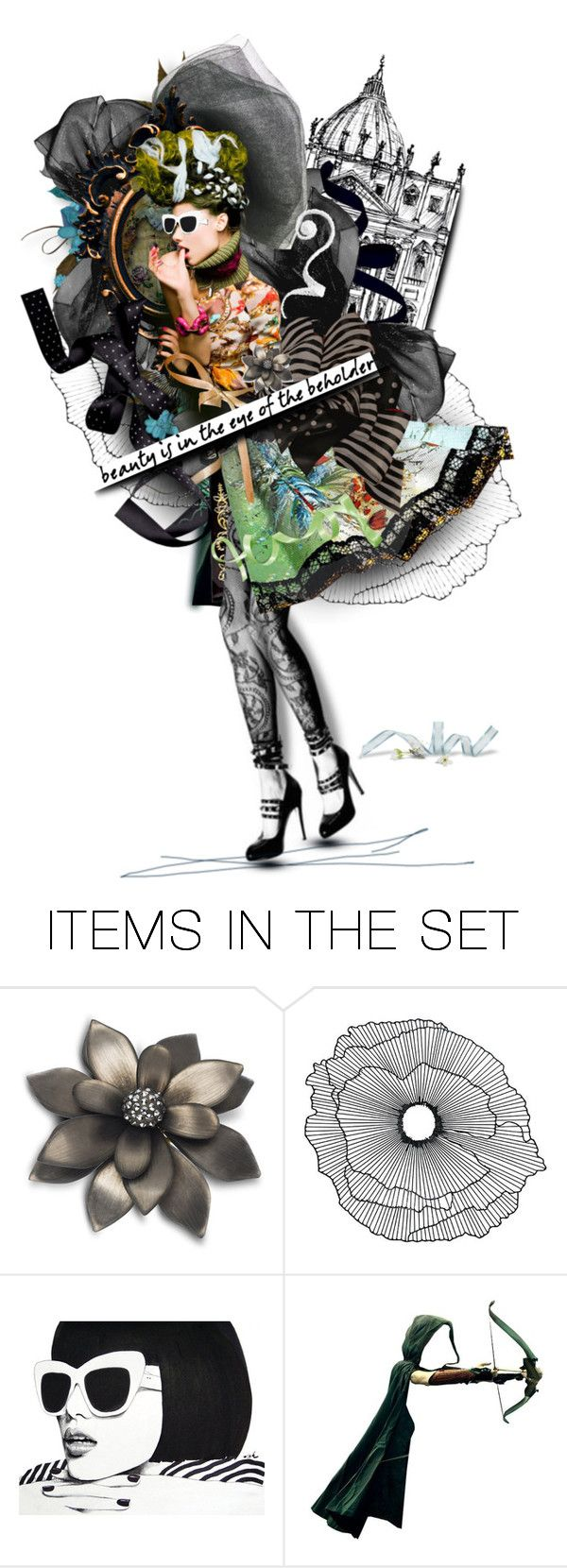 """""""Dressed in Ribbons and Bows"""" by gailwind ❤ liked on Polyvore featuring art"""