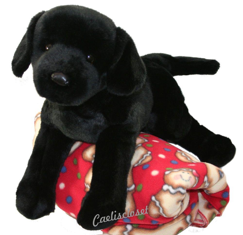 Douglas James Black Lab 23 Plush Labrador Retriever Large Stuffed