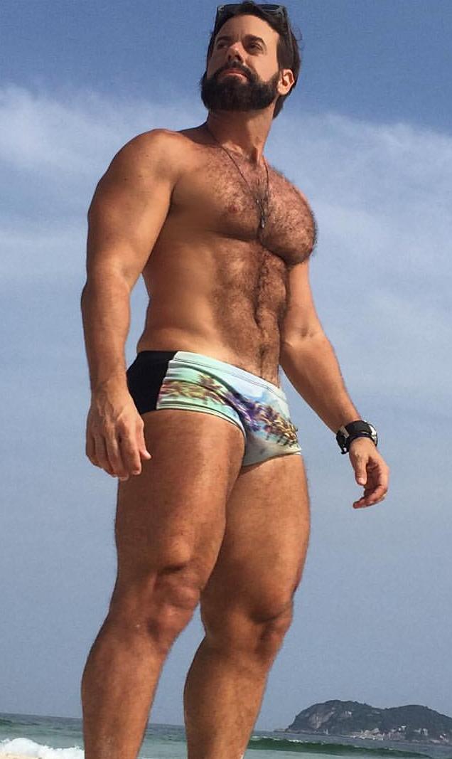 Gay male macho men
