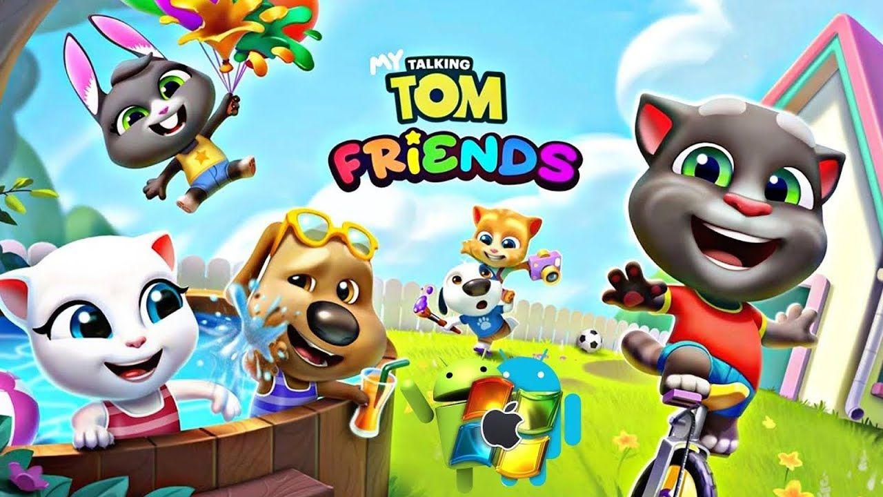 Meu Talking Tom Amigos Mod Dinheiro Ilimitado Gatinha Manhosa Criador De Jogos Jogos Divertidos