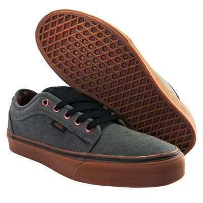 Vans Chukka Low (Hemp) - Dark Grey Gum VN-0NKA8MO  a0f4ac053