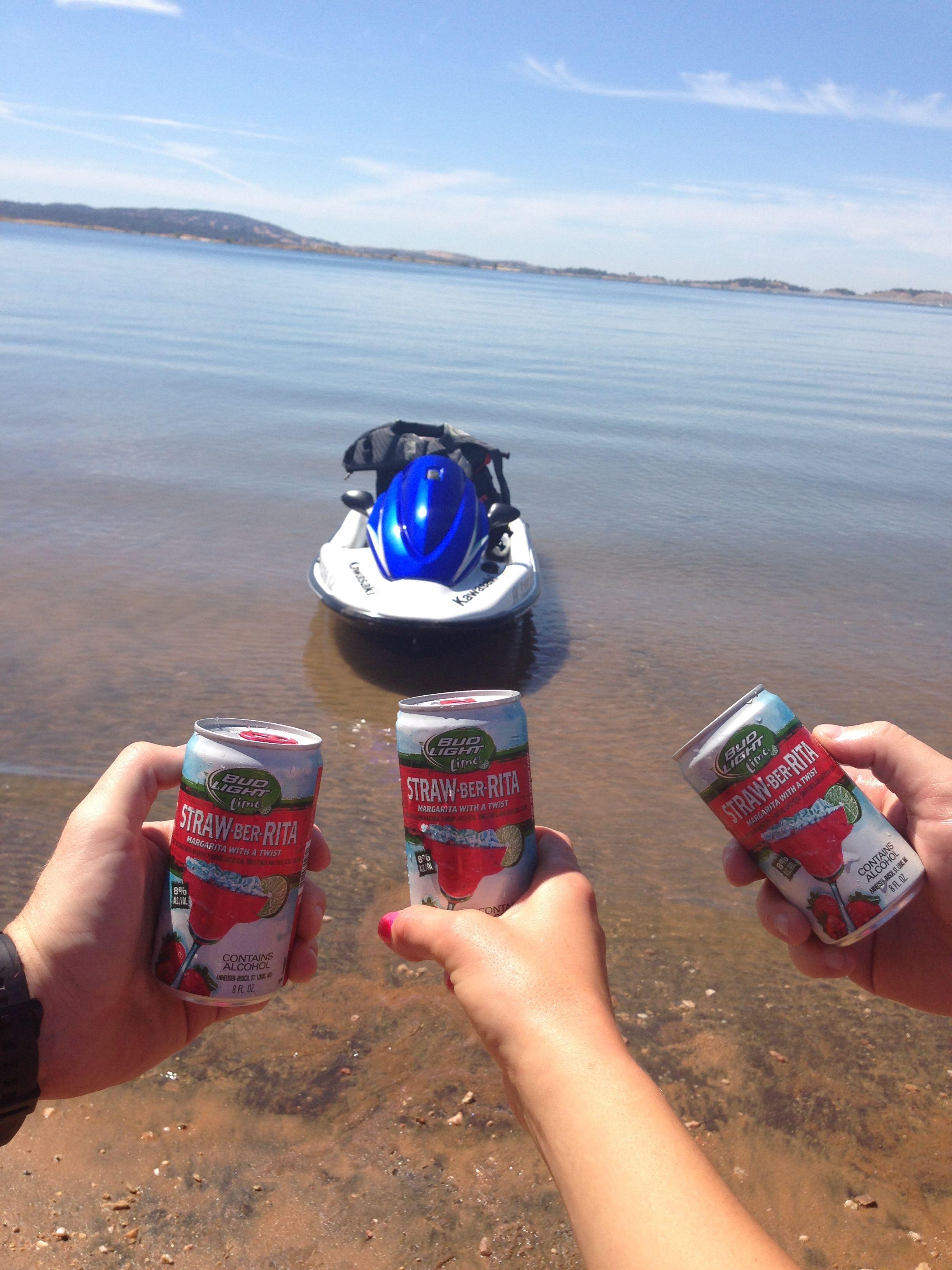 Jet Skiing Folsom Lake Folsom Lake Beer Can Root Beer