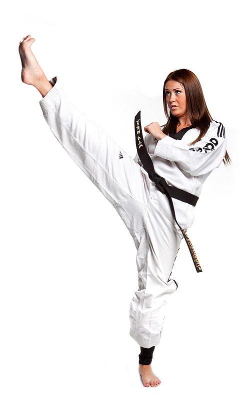 Karate Woman Kick