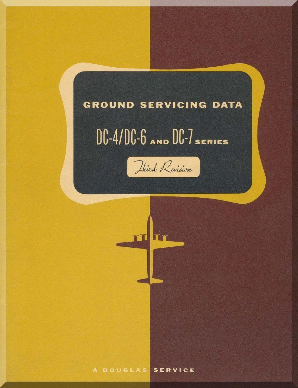 douglas dc 4 dc 6 dc 7 aircraft ground servicing data manual rh pinterest ca Manual Icon Manual Labor
