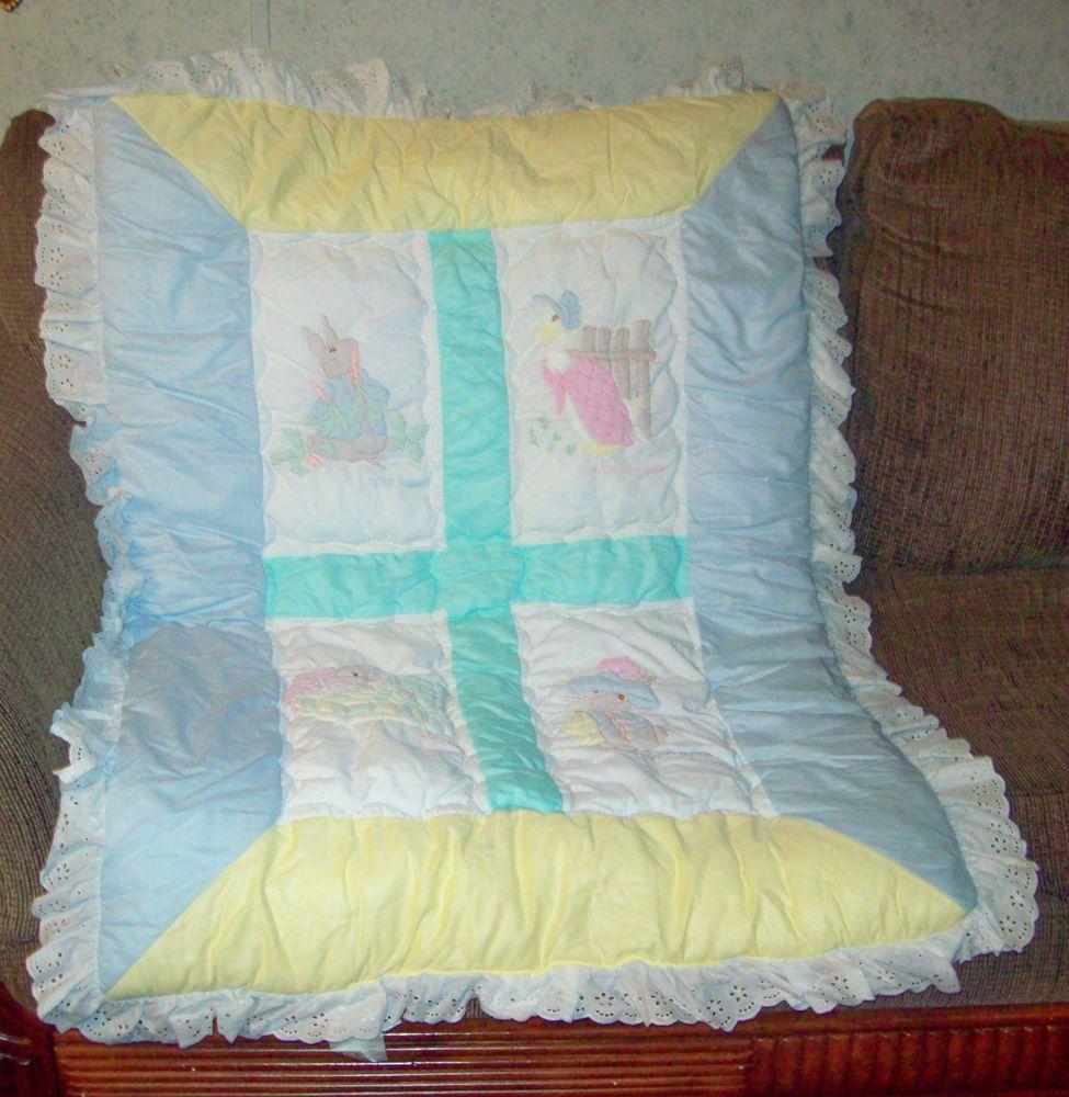 vintage Beatrix Potter | Peter rabbit baby bedding, Baby ...