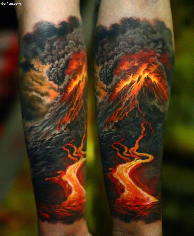 60 Brilliant 3d Arm Tattoos Realistic 3d Sleeve Tattoo Design