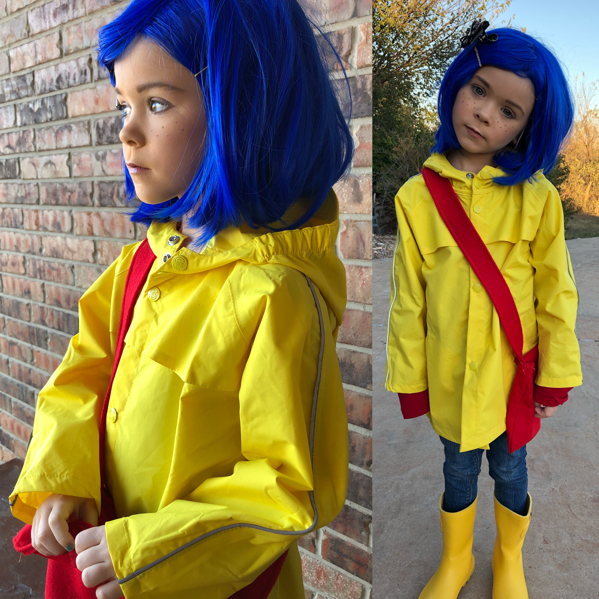 Coraline Halloween Costume Kid Halloween Costume Coraline Makeup Halloween Costumes For Kids Coraline Halloween Costume Halloween Kids