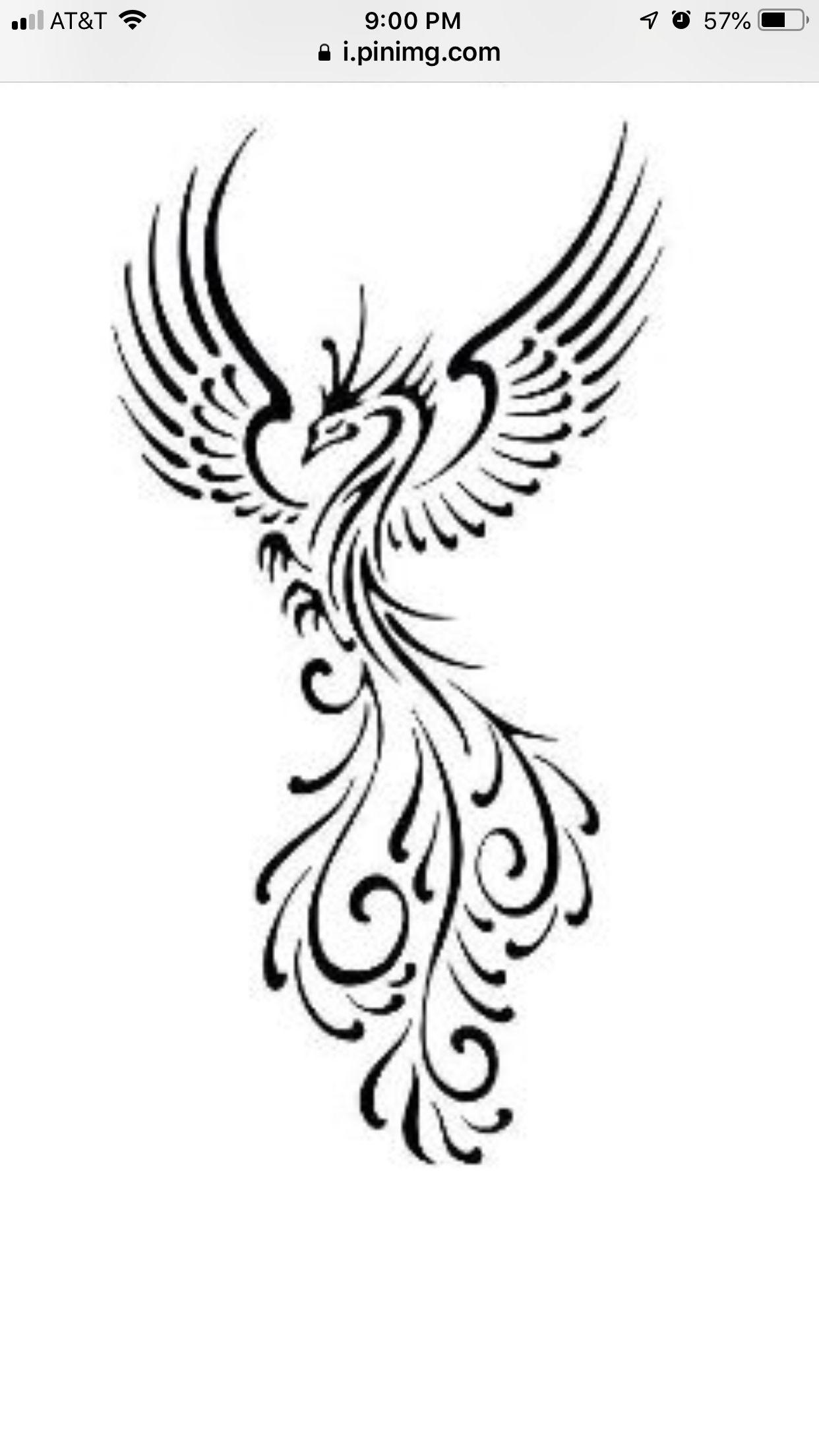 Pin By Thalia Otero On New Ink Phoenix Tattoo Tribal Phoenix Tattoo Small Phoenix Tattoos