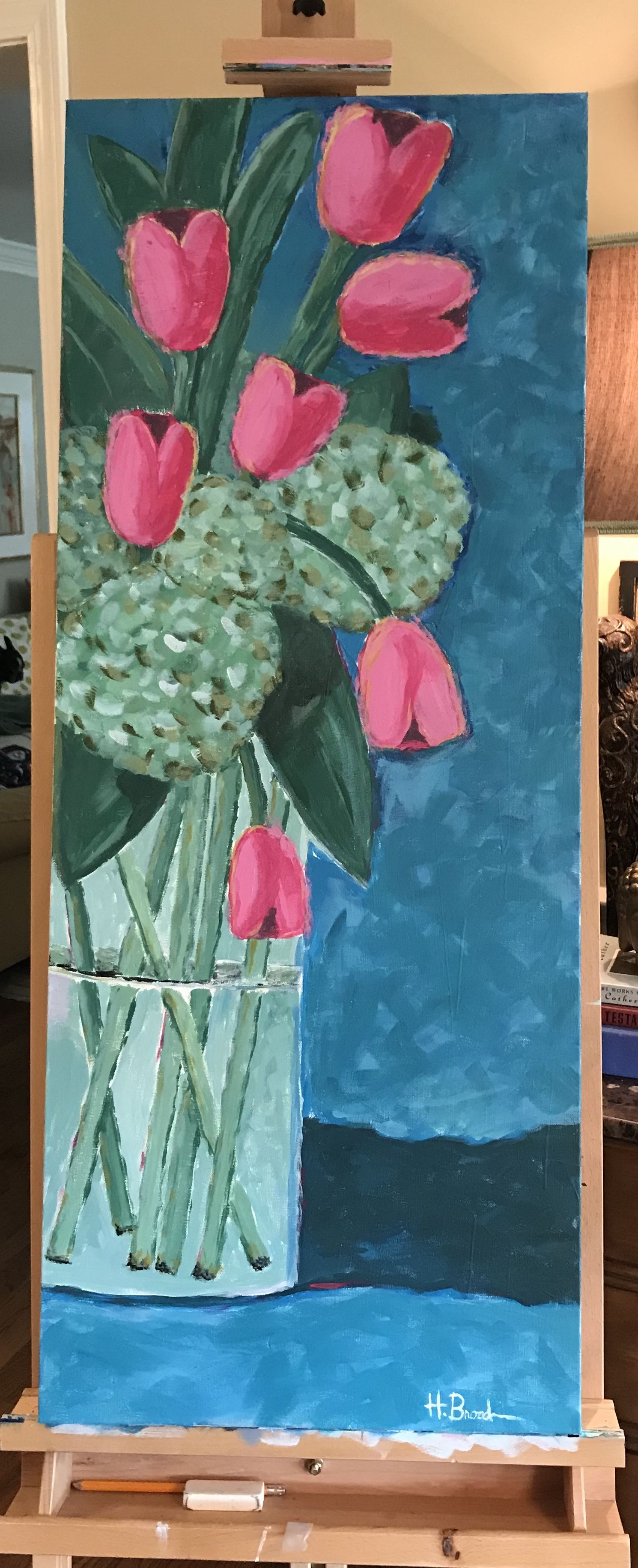 Tulip gate by hope broadway with images painting