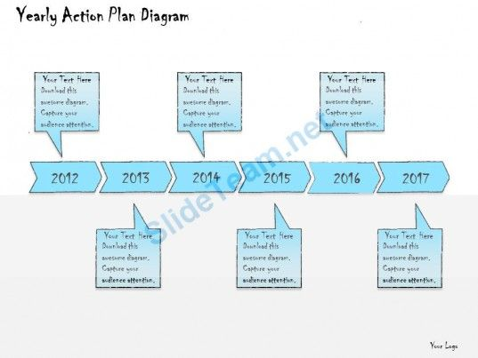 Business Ppt Diagram Yearly Action Plan Diagram Powerpoint