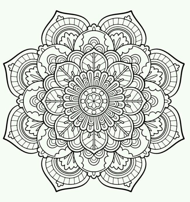 Epingle Par My Info Sur Coloring Pages Coloriage Mandala