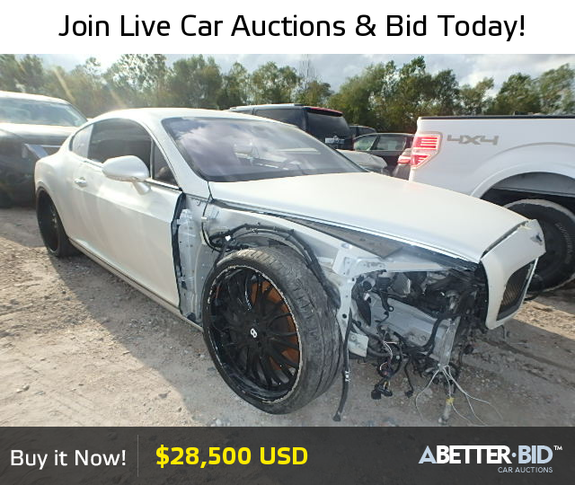 Salvage 2004 BENTLEY ALL MODELS For Sale