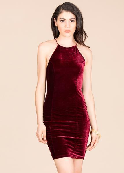 Vestido Terciopelo Shasa In 2019 Velvet Fashion Dresses