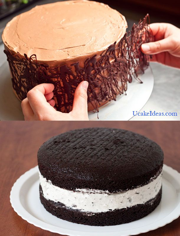 Double Layer Chocolate Cake Filling Ideas 2014 Cake Designs
