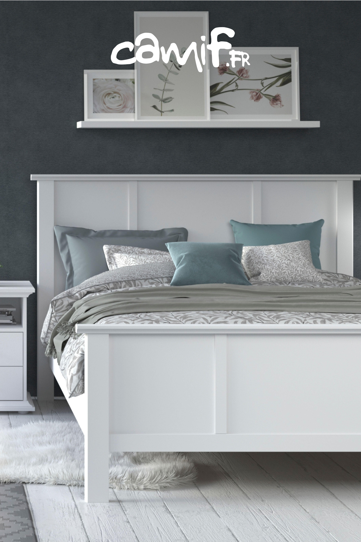 La Redoute Ameublement Chambre lit #blanc paloma idéal pour une #chambre au style charme
