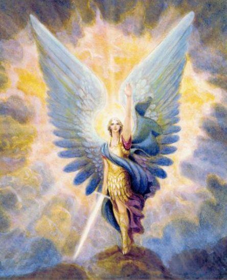 El Resplandor De Arcangel Miguel Imagenes De Angeles San