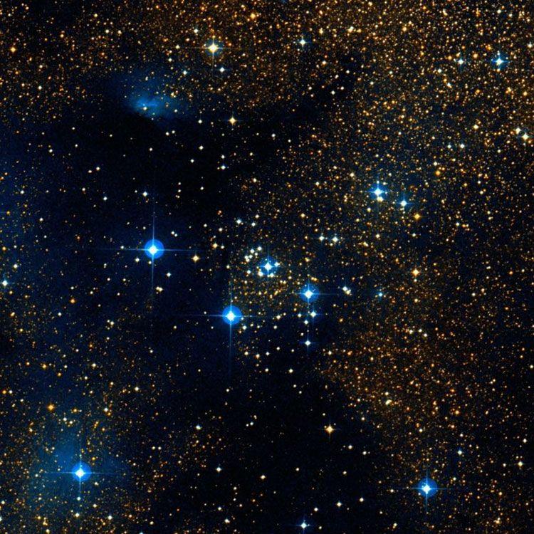 Cúmulo NGC 6250 (C 1654-457, OCL 991) Es un cúmulo abierto en la constelación Ara. Descubierto por John Herschel el 1 de Julio de 1834.
