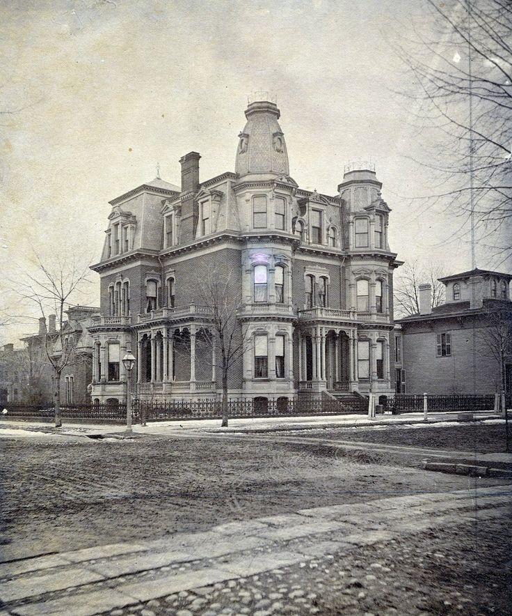 Brush Park Detroit, 1880's