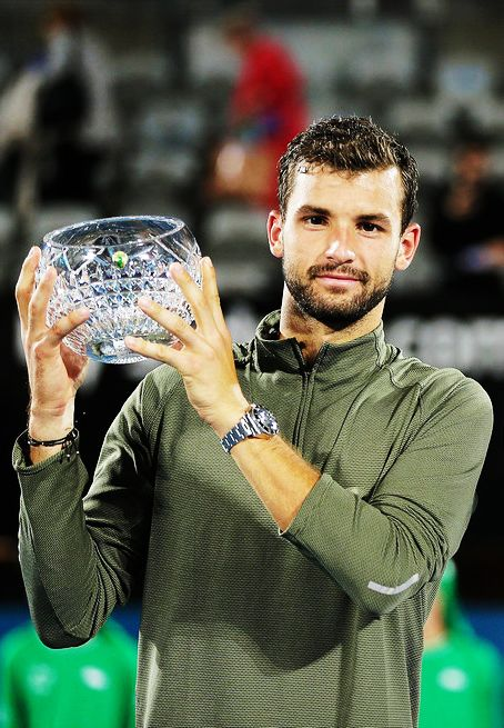 Image result for dimitrov tennis player