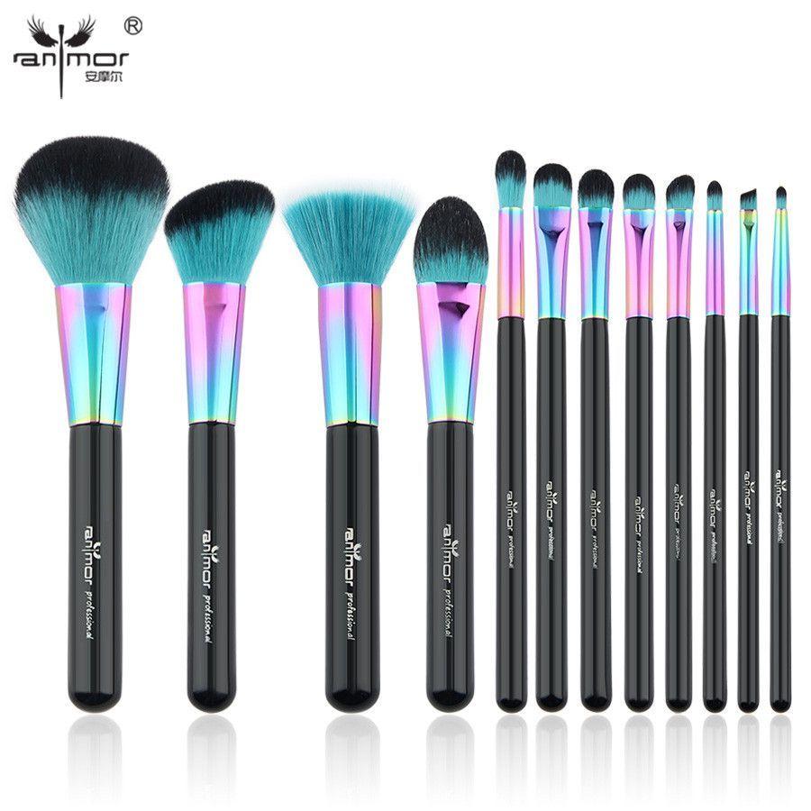 Makeup Brush Set Colorful Makeup Brushes Beautiful Powder Blush Makeup Brush Set Makeup Brush Set Professional It Cosmetics Brushes