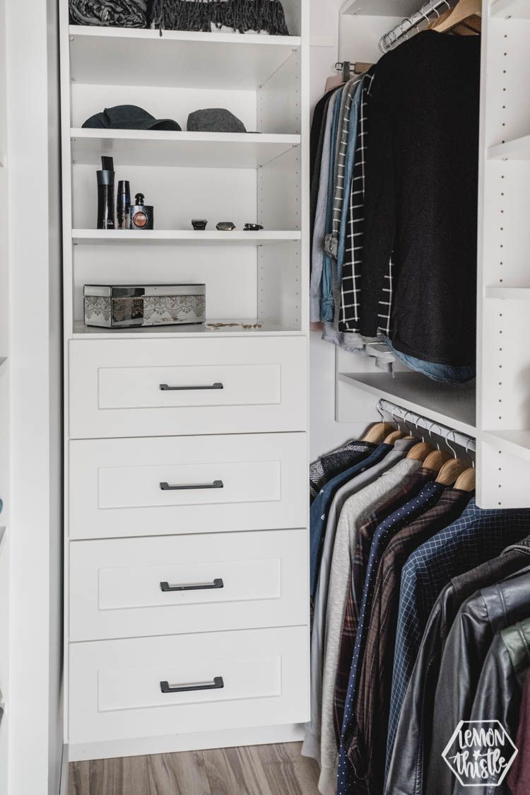 walk in closet makeover tips for maximizing storage on extraordinary small walk in closet ideas makeovers id=18669
