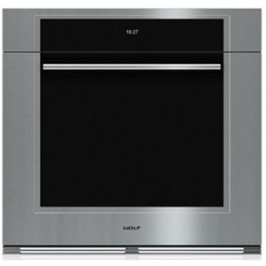 wolf wso30tmsth m series single electric wall oven stainless