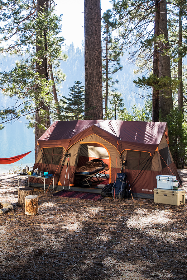 The perfect home away from home. The Great Outdoors