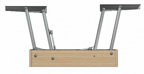 02 модель механизма стол трансформер Pinterest Outdoor Decor