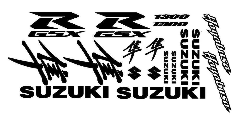 (Sponsored eBay) Suzuki Hayabusa GSXR 1300 Decal Kit, Many