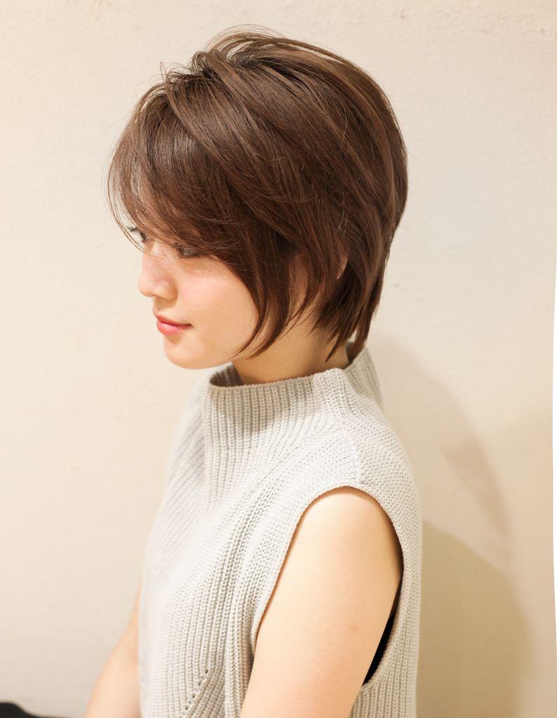 立体感のある小顔ショートヘア Yr 408 ヘアカタログ 髪型 ヘア