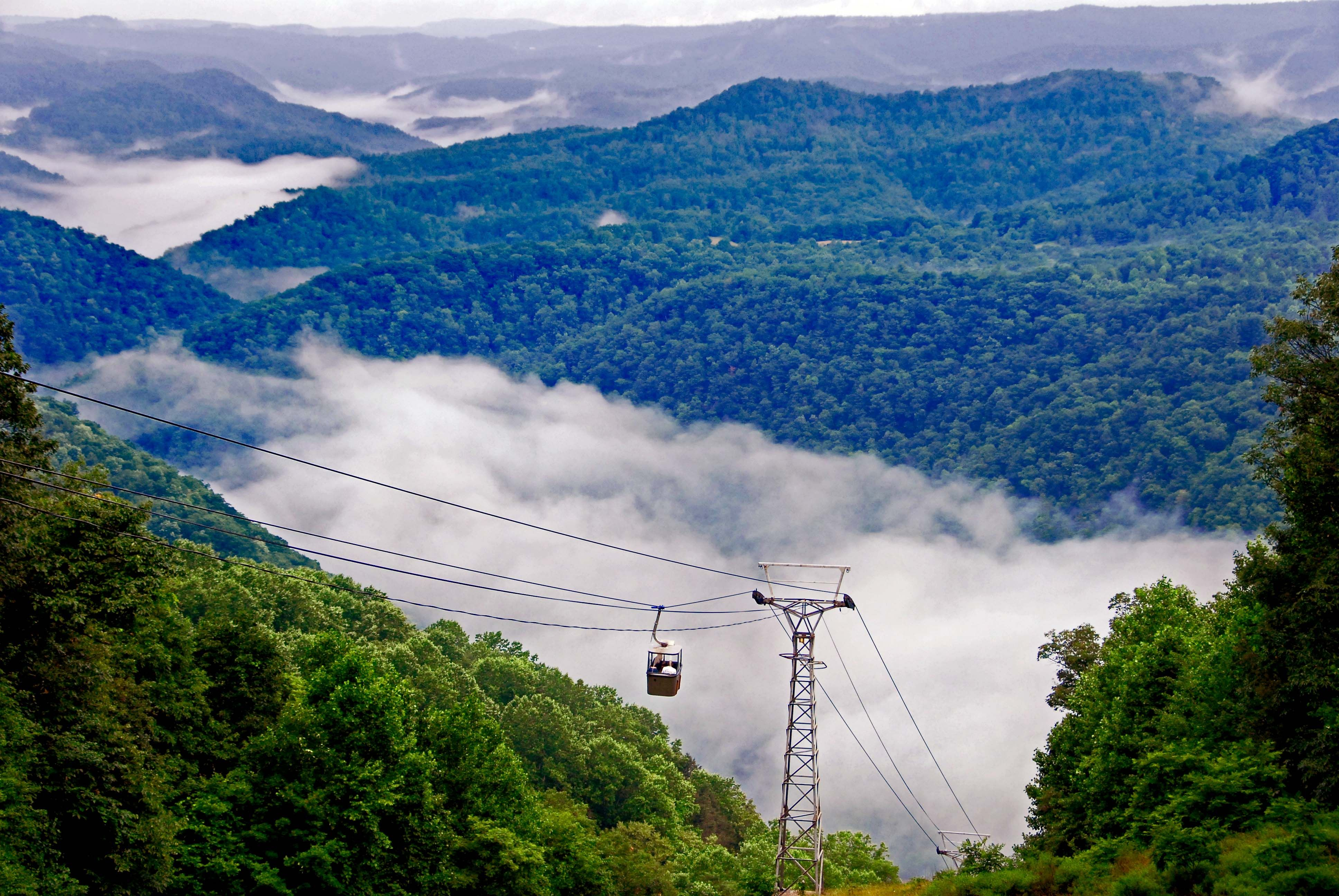 Superbe Tygart Lake State Park | Tram Riders At Pipestem Resort State Park Are  Treated To A