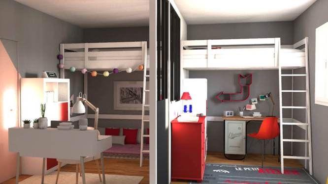 Jessica D Archi D Co Repenser Une Chambre Pour Deux Enfants Verri Re Le Chambre Et 3d